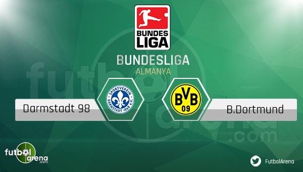 Darmstadt 98 - Borussia Dortmund maçı saat kaçta, hangi kanalda?