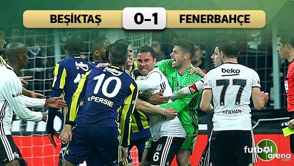 Beşiktaş 0-1 Fenerbahçe, Türkiye Kupası maç özeti ve golü