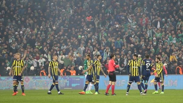 Fenerbahçe, Bursa'da 1 puana abone