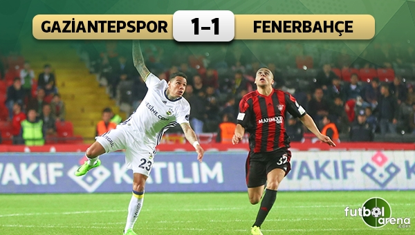 Fenerbahçe, Gaziantepspor'u geçemedi
