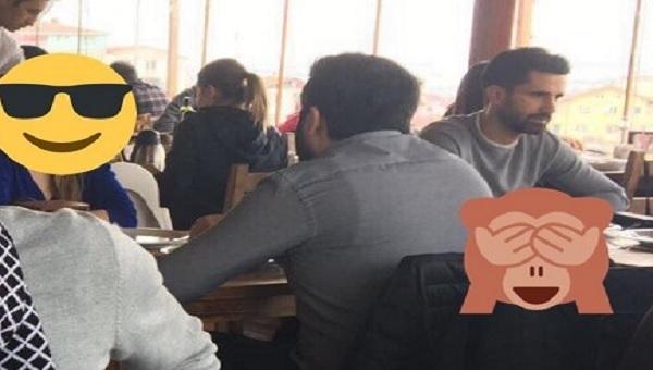Fenerbahçe - Kasımpaşa maçı sırasında Alper Potuk cafede görüntülendi