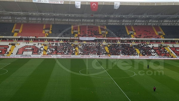 Fenerbahçe taraftarlarından Gaziantep'te protesto