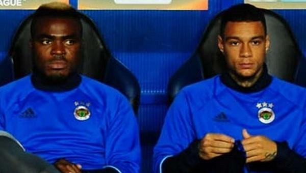 Fenerbahçe'de Emenike ve Van der Wiel affedildi