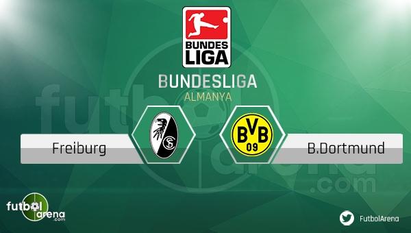 Freiburg - Borussia Dortmund maçı saat kaçta, hangi kanalda?