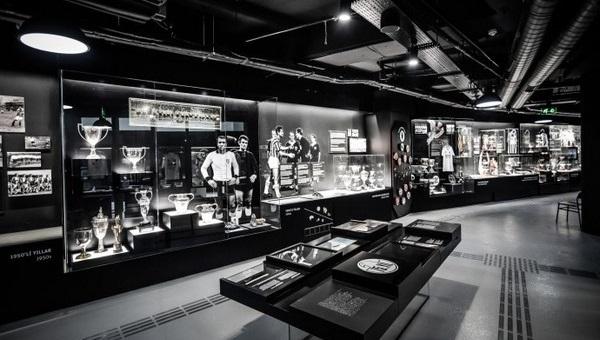FutbolArena TV, Beşiktaş Vodafone Arena'daki müzeyi görüntüledi - İZLE
