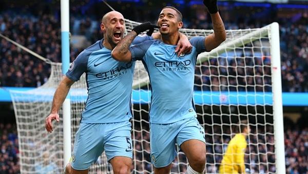 Manchester City 2 - 1 Swansea City maçı özeti ve golleri