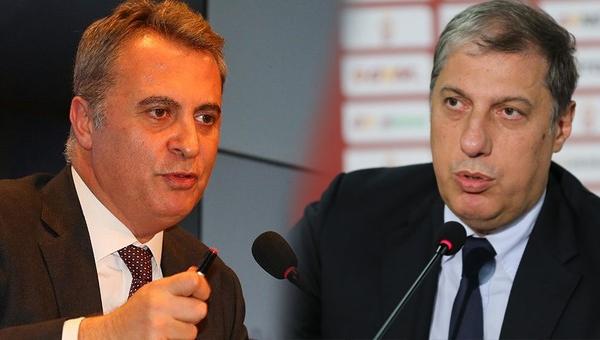 Galatasaray yöneticisi Levent Nazifoğlu'ndan Beşiktaş Başkanı Fikret Orman'a son dakika yanıtı