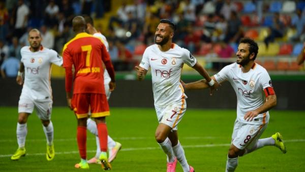 Galatasaray'a, Kayserispor engeli