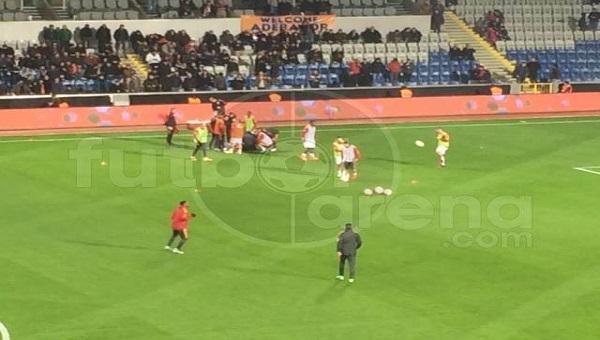Galatasaray'da Ahmet Çalık korkuttu