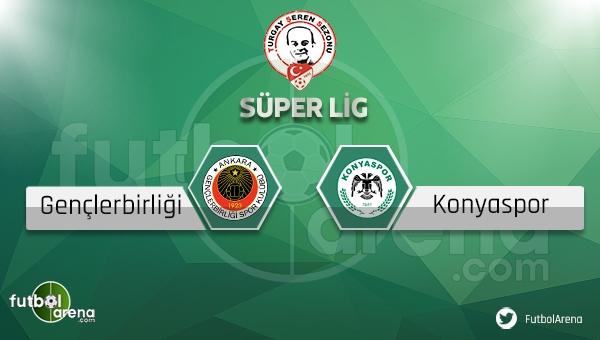 Gençlerbirliği - Konyaspor maçı saat kaçta, hangi kanalda? (Gençlerbirliği Konya maçı ne zaman?)