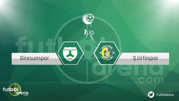 Giresunspor - Şanlıurfaspor maçı ne zaman, saat kaçta? (Giresun Urfa maçı)