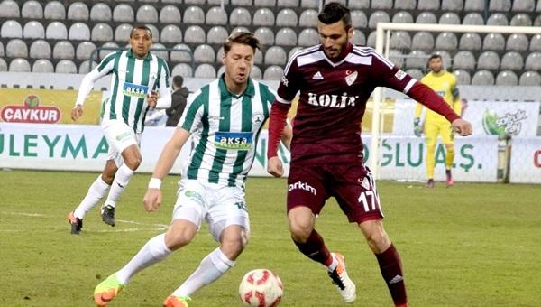 Giresunspor 2 - 1 Elazığspor maçı özeti ve golleri