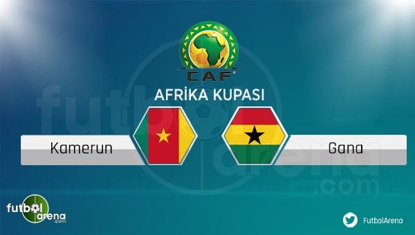 Kamerun - Gana maçı saat kaçta, hangi kanalda?