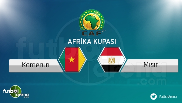 Kamerun - Mısır maçı saat kaçta, hangi kanalda?