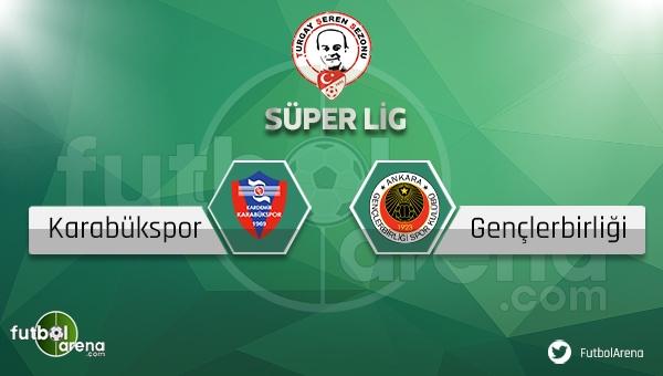 Karabükspor Gençlerbirliği maçı saat kaçta, hangi kanalda? (Karabük Gençlerbirliği maçı canlı ve şifresiz mi?)