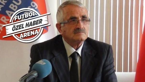 Karabükspor, Tudor ve Galatasaray'ı TFF'ye şikayet ediyor