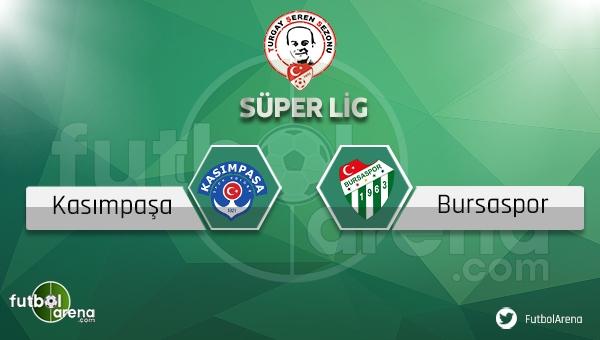 Kasımpaşa Bursaspor maçı saat kaçta, hangi kanalda? (Kasımpaşa Bursa maçı canlı ve şifresiz mi?)