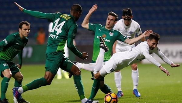Kasımpaşa, Bursaspor'u dağıttı: 4-0