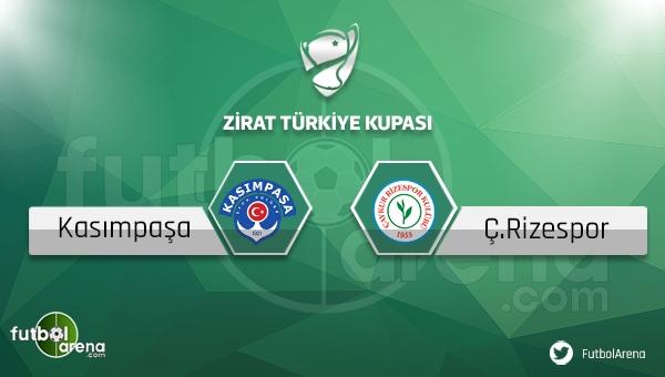 Kasımpaşa Çaykur Rizespor Türkiye Kupası maçı saat kaçta, hangi kanalda?