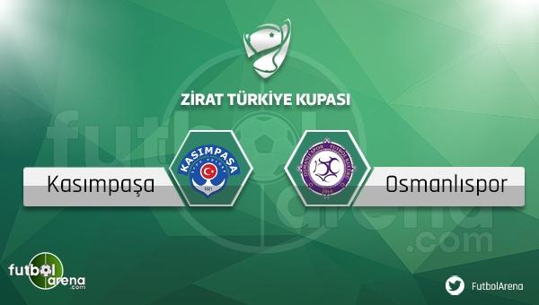 Kasımpaşa - Osmanlıspor Türkiye Kupası maçı saat kaçta, hangi kanalda?
