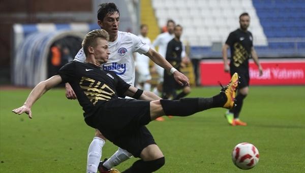 Kasımpaşa 1 - 0 Osmanlıspor maçı özeti ve golü