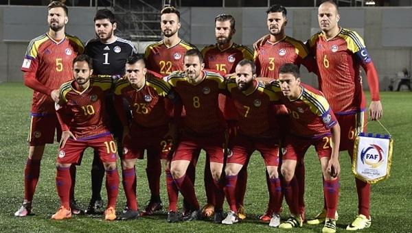 Kaybedenlerin maçında kazanan Andorra