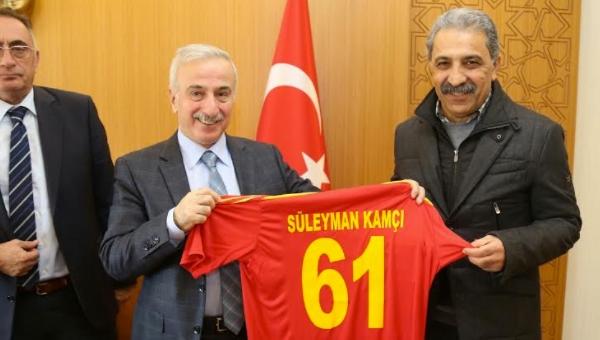 Kayseri Valisi, Kayserispor yönetimini kabul etti