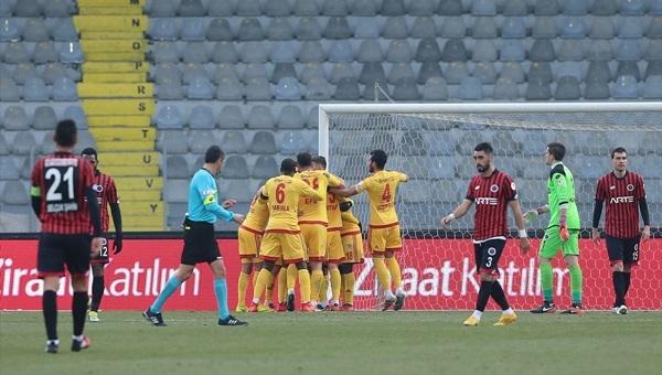 Gençlerbirliği 2 - 3 Kayserispor maçı özeti ve golleri