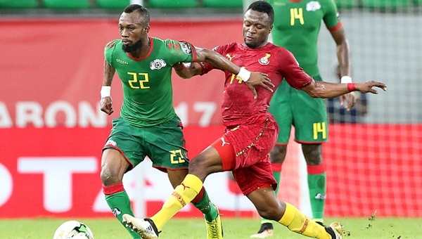 Kayserisporlu Traore, Burkina Faso'yu 3. yaptı!