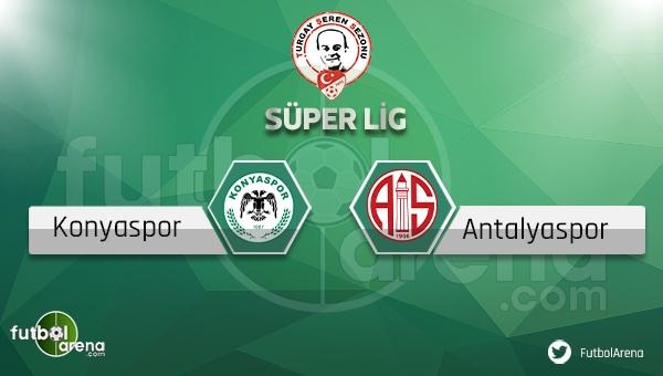 Konyaspor - Antalyaspor maçı ne zaman, saat kaçta? (Konya Antalya maçı)