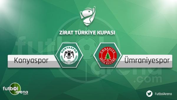 Konyaspor - Ümraniyespor Türkiye Kupası maçı saat kaçta, hangi kanalda?