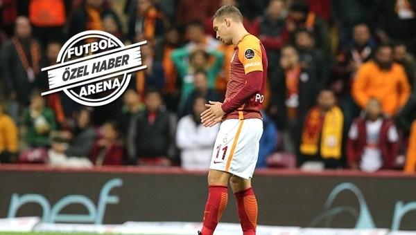 Lukas Podolski transfer görüşmesi için Türk Telekom Arena'da