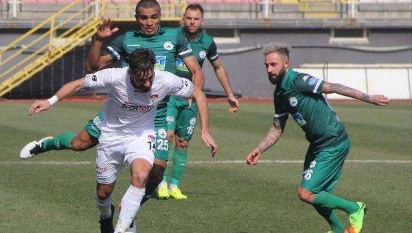 Manisaspor 1-2 Giresunspor maç özeti ve golleri