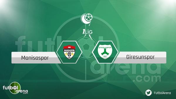 Manisaspor - Giresunspor maçı ne zaman, saat kaçta? (Manisa Giresun canlı izle)