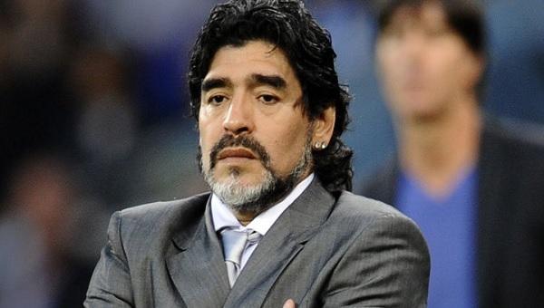 Maradona otelde baskı, polisler sorguya aldı