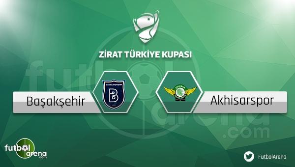 Medipol Başakşehir Akhisar Belediyespor Türkiye Kupası maçı saat kaçta, hangi kanalda?