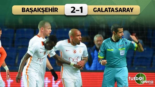 Medipol Başakşehir 2-1 Galatasaray Ziraat Türkiye Kupası maç özeti ve golleri