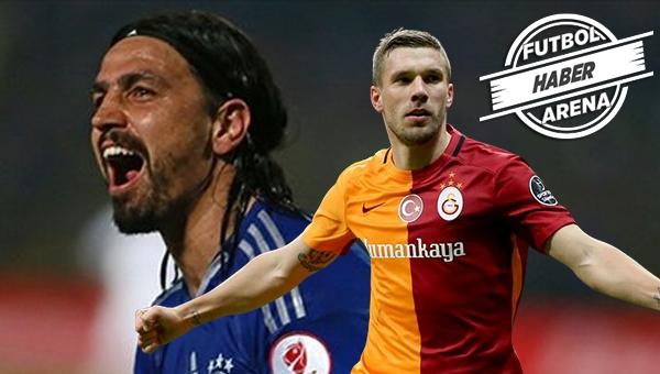 Mehmet Topuz'dan Lukas Podolski'ye gönderme