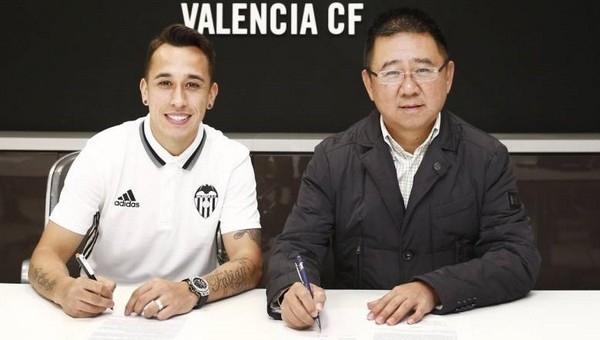 Orellana'yı Trabzonspor istedi, Valencia'ya gitti