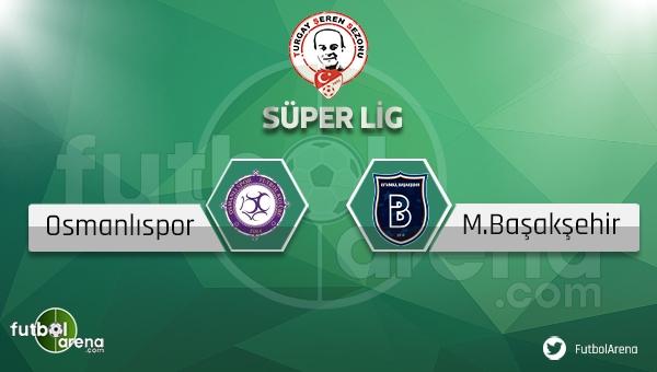Osmanlıspor Başakşehir maçı saat kaçta, hangi kanalda? (Osmanlı Başakşehir maçı canlı ve şifresiz mi?)