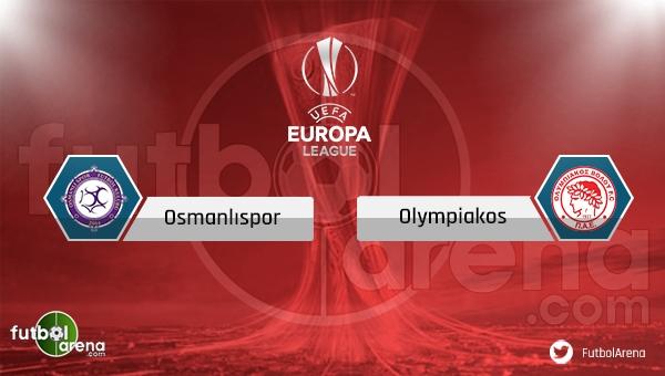 Osmanlıspor Olympiakos saat kaçta, hangi kanalda? (Osmanlıspor Olympiakos şifresiz uydu kanalları)