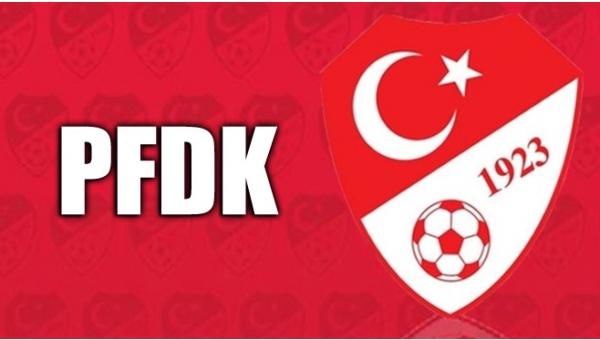 PFDK'a cezaları açıklandı