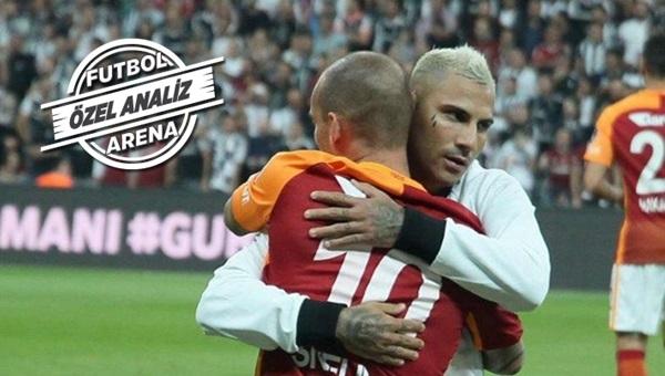 Quaresma mı, Sneijder mi? Derbinin beyinleri...