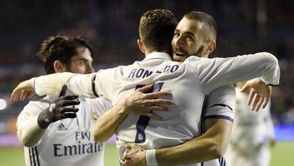 Real Madrid zor da olsa kazandı: 1-2