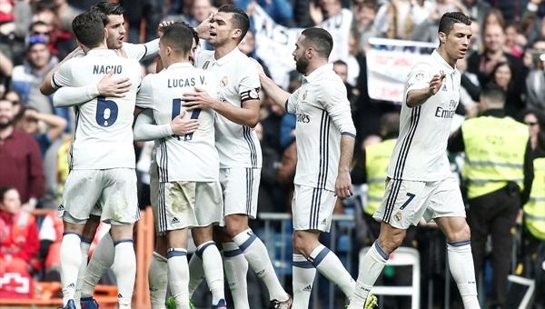 Real Madrid'in bileği bükülmüyor: 2-0