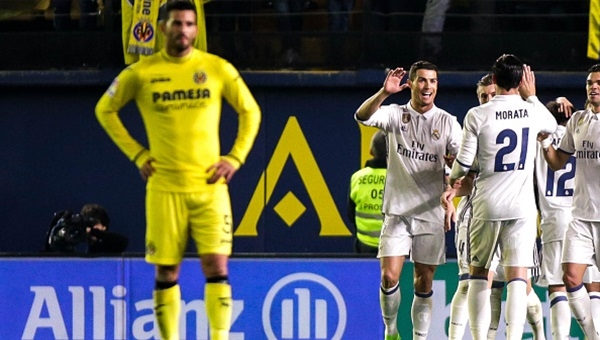 Villarreal 2 - 3 Real Madrid maçı özeti ve golleri