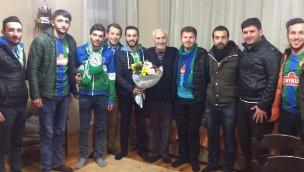 Rizespor'dan Şenol Birol'a ziyaret