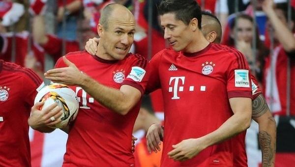 Robert Lewandowski'den Arjen Robben itirafı