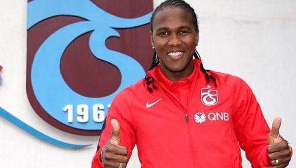 Hugo Rodallega: 'Trabzonspor benim için bir nimet'