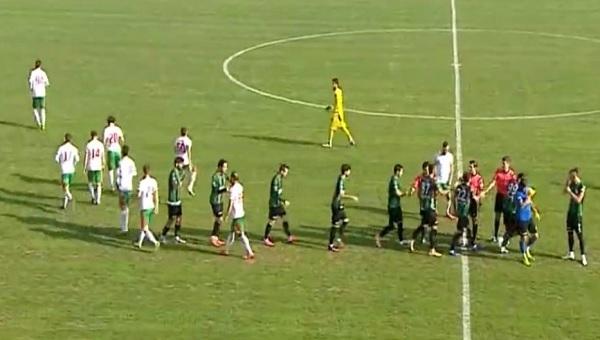 Sakarya'da olaylı maç! 9 kişi kaldı! Sakaryaspor 1-2 Afyonspor maç özeti ve golleri
